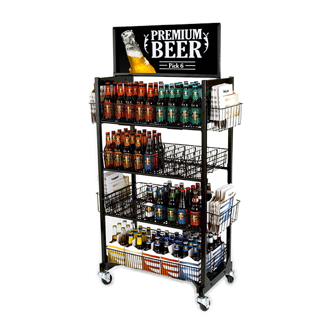 Stockmaster Singles Cart (Beer & Wine)